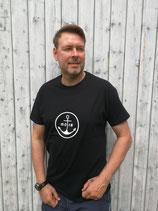 Herren T-Shirt MOIN (schwarz / weiß)