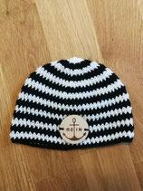 Babymütze - gestreift (handmade)