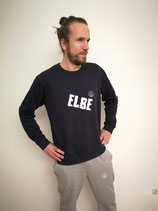 Unisex Sweatshirt ELBE (navy / weiß)