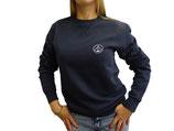 Unisex Sweatshirt moin (navy / weiß)