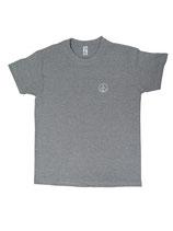 Herren T-Shirt moin (grau / weiß)