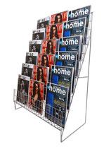 Scaletta per riviste a 6 file   S6
