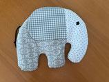 Elefant gross, gefüllt mit Therapieraps 23x20 cm