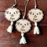 Ciondolo maniglia leoncino (3 pezzi)