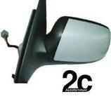 Specchio Sx Elettrico C/Primer Ribaltabile  C/Luce Cortesia