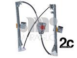Meccanismo Alzavetro Elettrico Ant  Sx Korea
