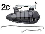Maniglia Esterna Porta Ant Sx C/Primer 3P S/Blocchetto