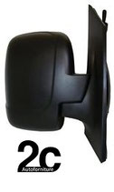 Specchio Sx Meccanico Nero 1 Vetro