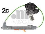 Alzavetro Elettrico Post Sx C/Antipinch