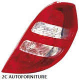 Fanale posteriore Dx Rosso/Bianco