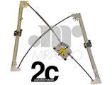 Meccanismo Alzavetro Elettrico  Dx 5P