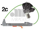 Alzavetro Elettrico Post Dx C/Antipinch