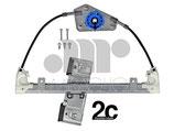 Meccanismo Alzavetro Elettrico Post Dx 5P