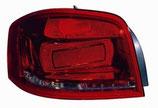 Fanale Posteriore sx 3Porte Rosso S/Portalampada