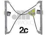 Meccanismo Alzavetro Elettrico  Sx 3P