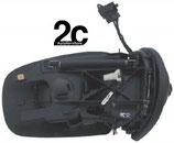 Specchio Dx Elettrico Termico  C/Primer  C/ Fanalino  7 Pin 02>