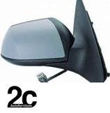 Specchio Dx Elettrico Termico Primer  +Luce Cortesia
