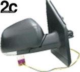 Specchio Dx Elettrico C/Primer e C/Fanalino