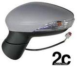 Specchio Sx Elettrico C/Primer Fanalino C/Luce Di Cortesia
