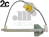 Meccanismo Alzavetro Elettrico Post Sx