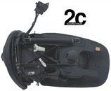 Specchio Sx Elett Termico Primer C/Fanalino 7 Pin