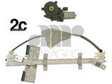 Alzavetro Elettrico Ant Sx 5P