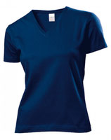 T-Shirt V-Neck  Damen mit ENERGETIX Logo