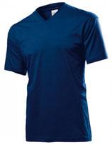 T-Shirt V-Neck Herren mit ENERGETIX Logo