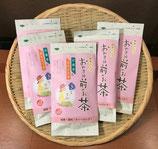 【緑茶ハーブティーバッグ】番茶&カモミール 3g×8個入り(おやすみ前のお茶)