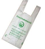 175x Bio-Tragetaschen Müllbeutel Frischhaltebeutel Bioabfallbeutel
