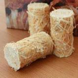 Anzünder aus Holzwolle