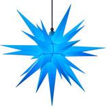Herrnhuter LED Advents-und Weihnachts Stern A7, 68 cm, Kunststoff, Blau, für Außen, wetterfest