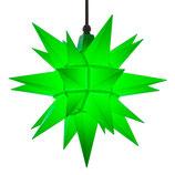 Herrnhuter LED Advents-und Weihnachts Stern A4, ca. 40 cm, Kunststoff, Grün , für Außen, wetterfest