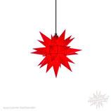 Herrnhuter LED Advents-und Weihnachts Stern A4, ca. 40 cm, Kunststoff, Rot , für Außen, wetterfest