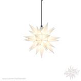 Herrnhuter LED Advents-und Weihnachts Stern A4, ca. 40 cm, Kunststoff, Weiß , für Außen, wetterfest