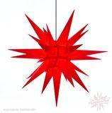 Herrnhuter Advents-und Weihnachts Stern A13, ca. 130 cm, Kunststoff, Rot, für Außen, wetterfest