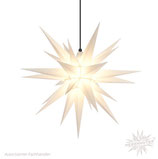 Herrnhuter LED Advents-und Weihnachts Stern A7, 68 cm, Kunststoff, weiß, für Außen, wetterfest