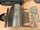 Leichtgutschaufel Bausatz Stahl