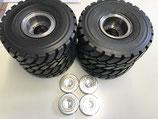 Radadapter für Reifen Michelin / Goodyear Wedico 966G Radlader