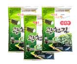 Nori 'KC' gewürzt original ganz (30g x3pack ) ( 30 % Sale)