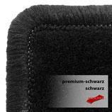 Passformsatz VW T5/ T6 - Premium schwarz /