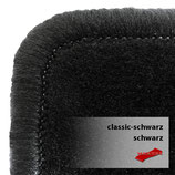 Passformsatz VW T5/ T6 - Classic schwarz /