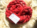 handgefärbter Kammzug BFL/Tussahseide # 142g