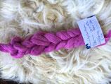 handgefärbter Kammzug Merino 21µ / Suri Alpaca