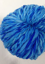 Skeins of eight blue