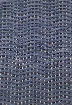 Grusskarte Leinen stahlblau