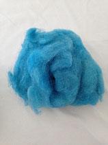 Handgefärbte Flocken Stahlblau