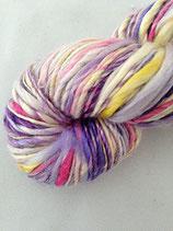 Farbenfroh lila