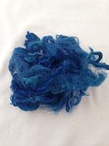 Handgefärbte Flocken Ocean Blue