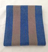 Geschirrtuch blau grau
